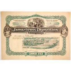 Jamestown Exposition Co.  stock