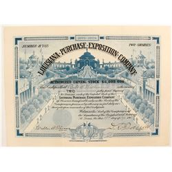 Louisiana Purchase Exposition Co Stock
