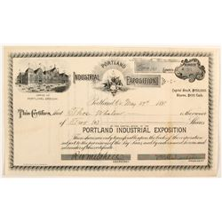 Potland  Industrial Exposition stock