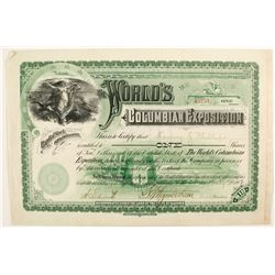 World's Columbian Exposition stock