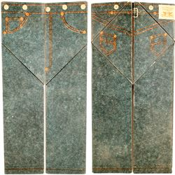 Levi's Jeans Rare Origami Advertisement