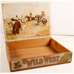 Wild West Toilet and Bath Soap Pictorial Box