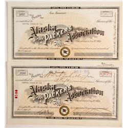 Alaska Packers Association Stocks (3)