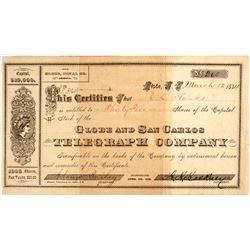 Globe & San Carlos Telegraph Company Stock