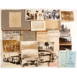 Auburn, CA Ephemera Collection