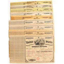 Auburn, CA Tobacco Tax Certificates (10)