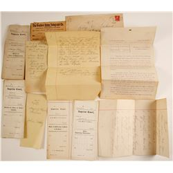 Legal Papers Related to Attorney Leo Lukens