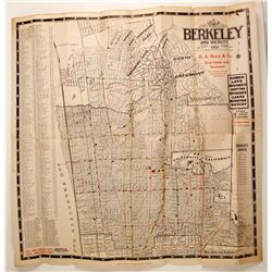 Berkeley, CA and Folding Vicinity Map