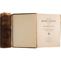 History of Butte County California with Biographical Sketches