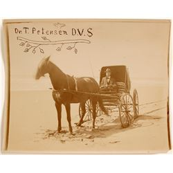 Photo of Dr. T. Petersen, D.V.S.