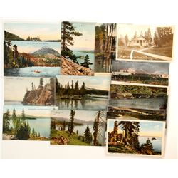 Early Lake Tahoe Postcard Collection