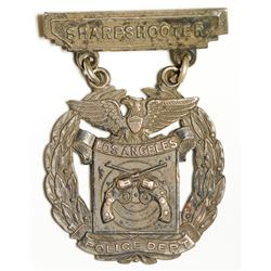 LAPD Sharpshooter Medal