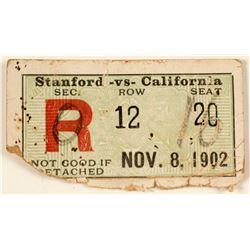 Stanford vs. California Football Ticket