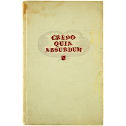 Book Credo Quia Absurdum