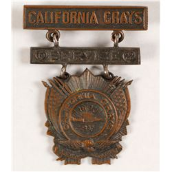 California Grays Service Medal