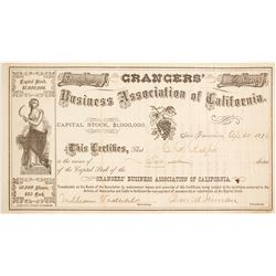 Grangers Business Association of California Stock