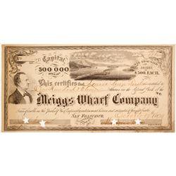 Meiggs Wharf Company Stock