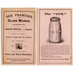 San Francisco Glass Works Sales Brochure