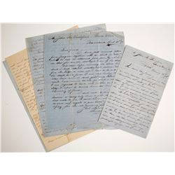 Handwritten Letters Europe to Santa Clara