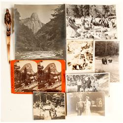 Yosemite Photos and Letter Opener