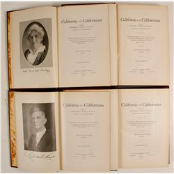 California and Californians – Four-Volume Set