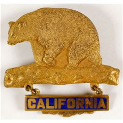 California Golden Bear Pin