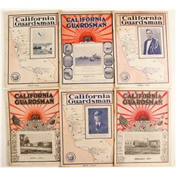 California Guardsman, 6 Issues