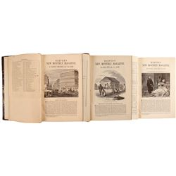 Harper's Magazine - Three Volumes on California