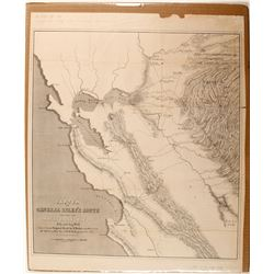 Map of California (Gold Rush)