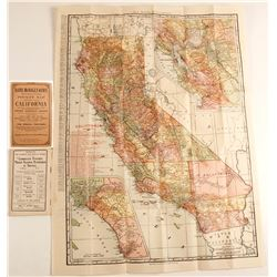 Rand McNally California Folding Pocket Map