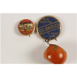 Vintage California Pinbacks