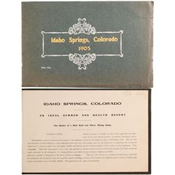 Idaho Springs, Colorado 1905 Booklet