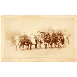 Photo of Men & Women on Donkeys/Mules