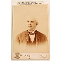 Photo of Oliver Wendell Holmes, Supreme Ct. Judge