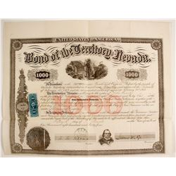 Bond of the Territory of Nevada