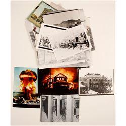 Central Nevada Historical Society Postcard Size Reprint Photos