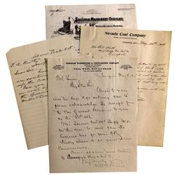Nevada Coal Company Collection