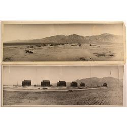 Two Early Extremely Rare Panoramas of the Naval Ammunition Depot in Hawthorne, NV (Hugh Shamberger)