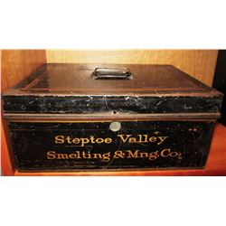Steptoe Valley Smelting & Mining Company Strong Box