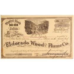 Eldorado Wood & Flume Company Stock