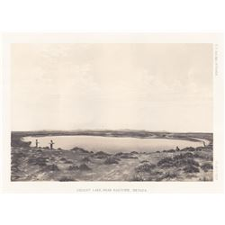 1780's Ragtown, Nevada Lake Scene