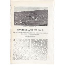 """Rawhide & Its Gold"" by Cradelbaugh"