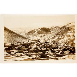 Rawhide, Nevada Winter Real Photo Postcard