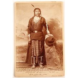 "Photo of ""Head Chief of Bannock Tribe"""