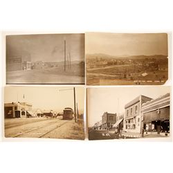 Four Sparks, Nevada Real Photo Postcards