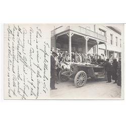 Tonopah: New York to Paris 1908 Race Postcard