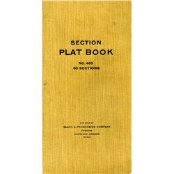 Surveyor's Field Plat Book with Interesting Locations