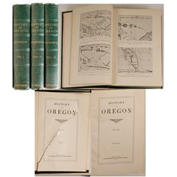 History of Oregon by Carey