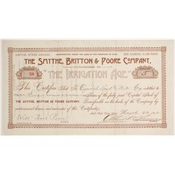 Smythe, Britton & Poore Company Stock