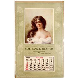 Park Bank & Trust Co Wall Calendar
